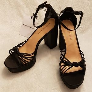 Who What Wear | Satin Knot Platform Pumps | NWT